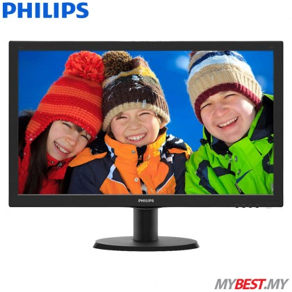 "PHILIPS 243V5QHSBA/69 23.6"" LCD Monitor"