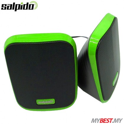 Salpido Macchi 7 2.0 Channel USB Portable Speaker