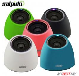 Salpido Macchi Solo 2.0 Channel Multimedia Mini Speaker