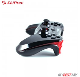 CLiPtec RZG480 STORM-X Wireless PC USB Dual Vibration Gamepad
