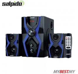 Salpido The Ultimate G3X Super Bass 2.1 High Quality Speaker