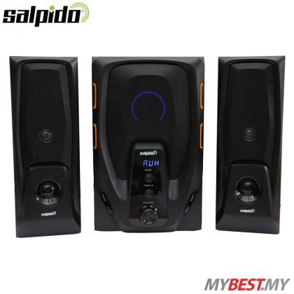 Salpido G6 Core 2.1 Multimedia Sound System Speaker