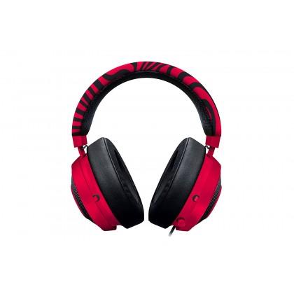 Razer Kraken Pro V2 Oval Neon Red PewDiePie Edition Gaming Headset (RZ04-02050800-R3M1)