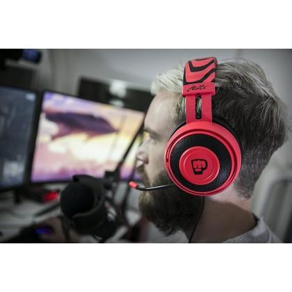 Razer Kraken Pro V2 Oval Neon Red Pewdiepie Edition Gaming