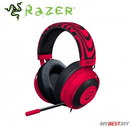 Razer Kraken Pro V2 Oval Neon Red PewDiePie Edition Gaming Headset (RZ04-02050800-R3M1)