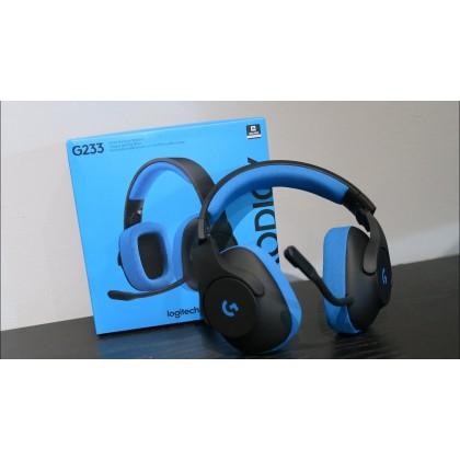 Logitech G233 Prodigy Wired Gaming Headset (981-000705)