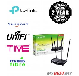 TP-LINK, 450Mbps High Power Wireless N Router - TL-WR941HP, UNIFI / MAXIS