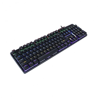 CLiPtec PLETERO104 USB Professional Mechanical Keyboard RGK817
