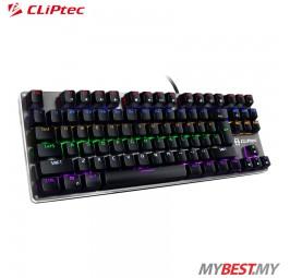 CLiPtec RGK815 PLETERO87 USB Professional Mechanical Keyboard