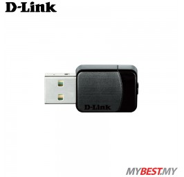 D-Link DWA-171 AC600 Wireless Dual Band Mini Adapter