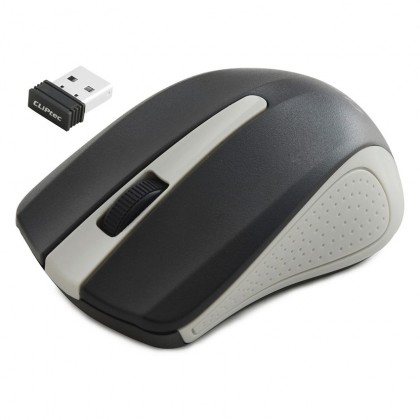 CLiPtec RZS846 TRAX 2.4GHz 1200 DPI Wireless Optical Mouse (Grey)