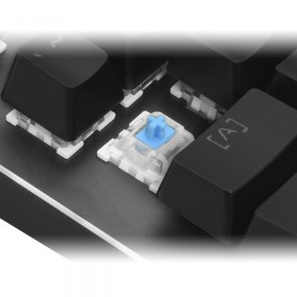 CLiPtec RGK827 MEGOSOURIUS USB Illuminated Mechanical Pro-Gaming Keyboard