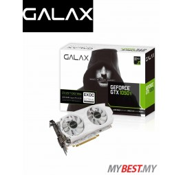 GALAX GeForce® GTX 1050 Ti EXOC White