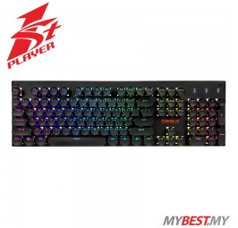 1ST PLAYER MECHANICAL STEAMPUNK LITE MK5 RGB Keyboard