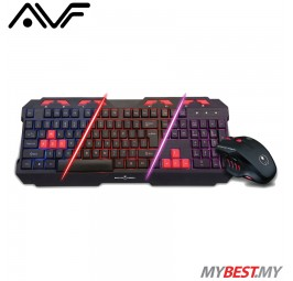 AVF GamingFreak XC55 Multimedia Gaming Keyboard & Mouse Combo