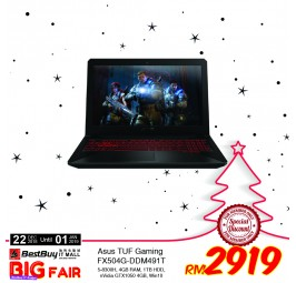 "Asus TUF FX504G-DDM491T 15.6"" FHD Gaming Laptop"