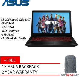 "Asus TUF FX504G-DE4492T 15.6"" FHD Gaming Laptop"