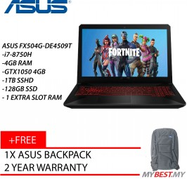 "Asus TUF FX504G-DE4509T 15.6"" FHD Gaming Laptop"