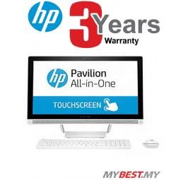 HP Pavilion 24-b202d AIO Touchsmart PC(i5-7400T/4GB D4/1TB/NVD 930MX 2GB/23.8˝FHD Touch/W10)White