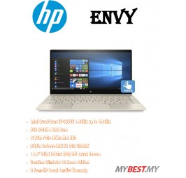 HP Envy 13-ad163TX Laptop (i7-8550U/8GB D3/512GB SSD/NVD MX150 2GB/13.3˝FHD Touch/W10) Gold