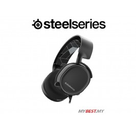 SteelSeries Arctis 3 7.1 Surround Gaming Headset (Black)