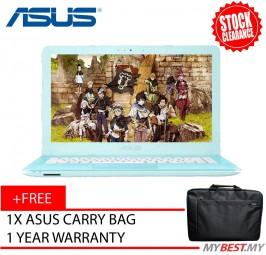 Asus Vivobook X441N-AGA142T Notebook - Blue (14inch / Celeron / 4GB / 500GB / Intel HD)