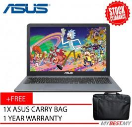 Asus X541S-AXX345T 15.6' (N3060, 4GB, 500GB, Intel, W10) - Silver