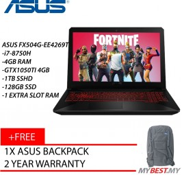 "ASUS TUF FX504G-EE4269T 15.6"" FHD GAMING LAPTOP"