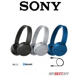 Sony WH-CH500 Wireless Bluetooth On-Ear Headphones Headsets Casual Music Sound