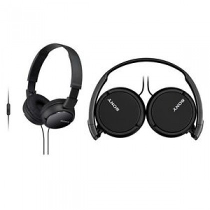 Sony MDR-ZX110AP Black Headphones with Mic MDR-ZX110AP/B (Original) from Sony Malaysia