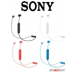 Sony WI-C300 Wireless Bluetooth In-Ear Headphones Earphones Casual Music