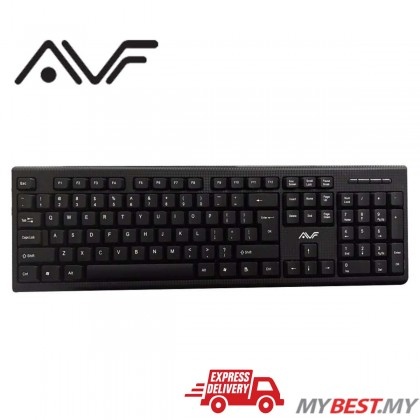AVF AK1018U Water Resistance USB Keyboard