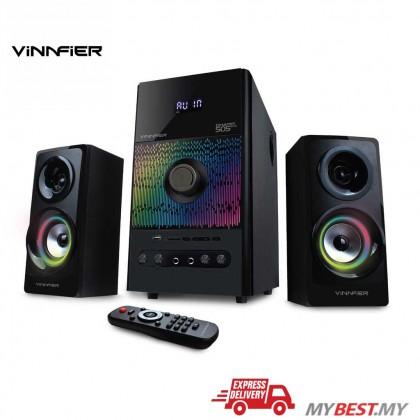 VINNFIER Champ 505BTRM 2.1 Speaker With Karaoke System, Bluetooth, FM Radio, USB