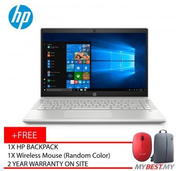 "HP Pavilion 14-Ce1064TX 14"" FHD IPS Laptop Silver ( I7-8565U, 4GB, 128GB + 1TB, MX150 2GB, W10 )"