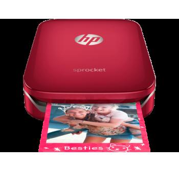 HP Sprocket Photo Printer - Red