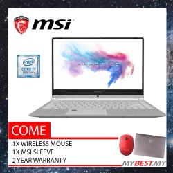 "MSI Prestige PS42 8M-432MY 14"" Laptop (i7-8550U/UMA/8GB/256GB/W10) - Silver"