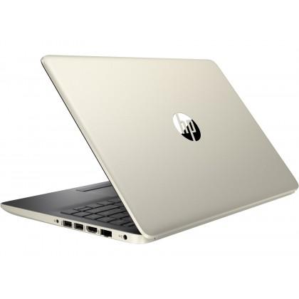 """HP 14s-Cf1058TX 14"""" FHD Laptop Pale Gold ( I5-8265U, 4GB, 128GB + 1TB, Radeon 530 2GB, W10 )"""