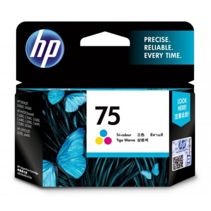 HP 75 COLOUR INK CARTRIDGE (HP-INK-75)