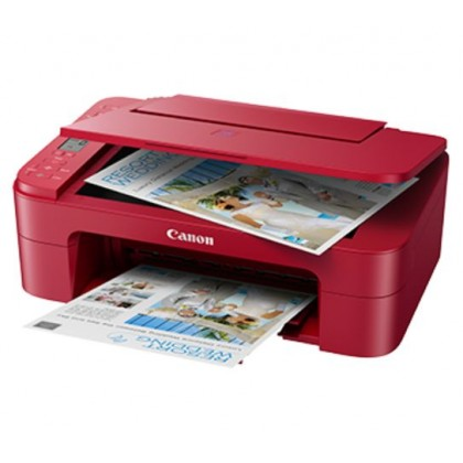 Canon Pixma E3370 Compact Wireless All-In-One Inkjet Printer with LCD (Print, Scan, Copy)