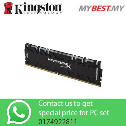 KINGSTON 8GB DDR4 3200MHz CL16 RAM HX432C16PB3A/8