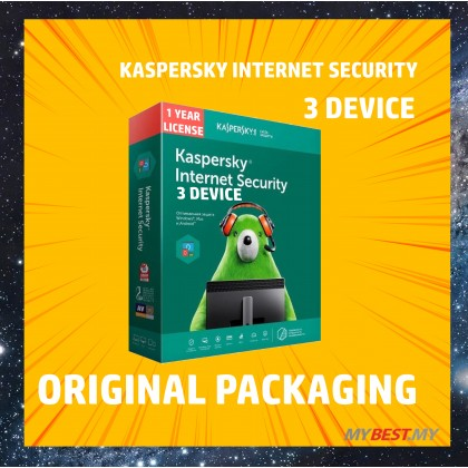 Kaspersky Internet Security 2020 [1 YEAR 3 DEVICES ]
