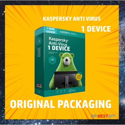 Kaspersky Anti-Virus 2020 [ 1 YEAR 1 DEVICES ]