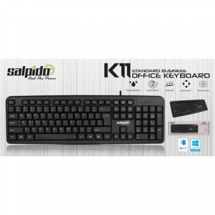 Salpido K11 Standard Business Office USB Keyboard