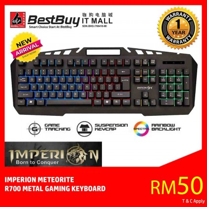 IMPERION METEORITE GAMING COLORFUL LIGHT KEYBOARD