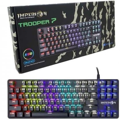 Imperion Trooper 7 RGB MECHANICAL GAMING KEYBOARD