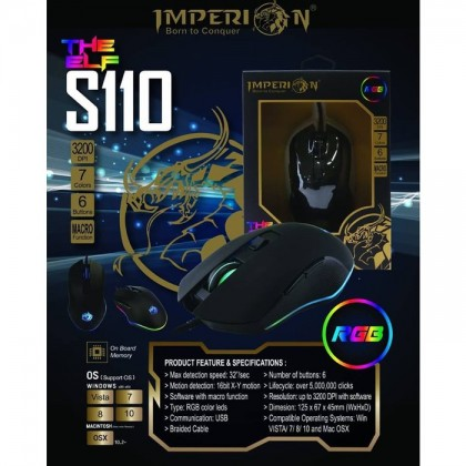 Imperion S110 RGB Gaming Mouse