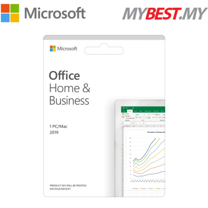 MICROSOFT OFFICE HOME & BUSINESS 2019 (ESD - LICENSE KEY ONLY)