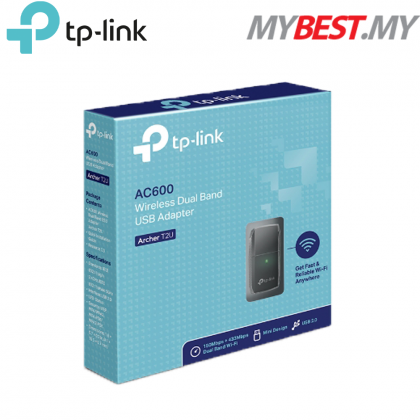 TP-LINK Archer T2UN AC600 Wireless Dual Band USB WiFi Adapter