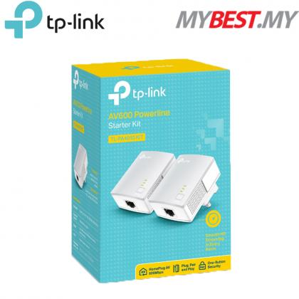 TP-LINK TL-PA4010KIT AV600 Powerline Homeplug Adapters (2units starter pack)