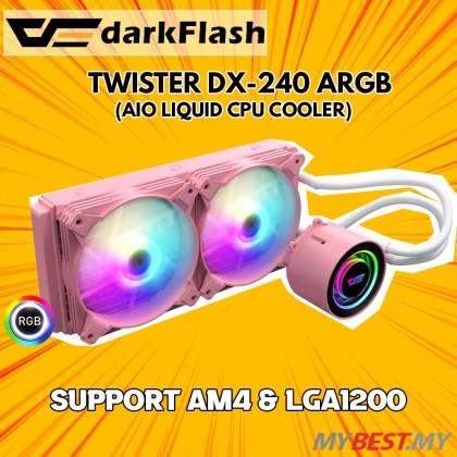 AIGO DARKFLASH TWISTER DX240 aRGB PINK